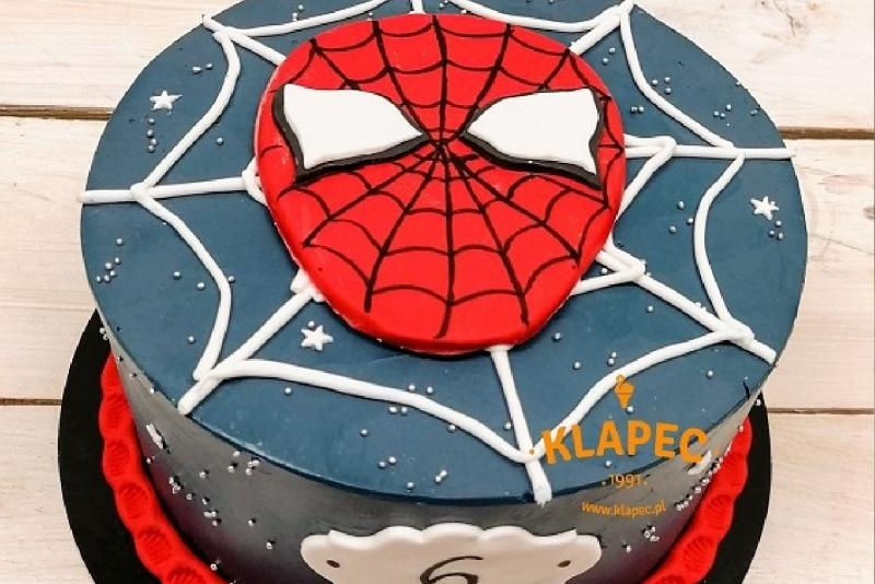 8. tort dla chłopca spider man