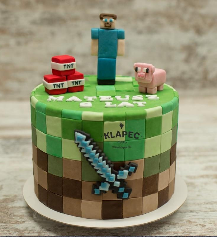 48.tort z minecraftem