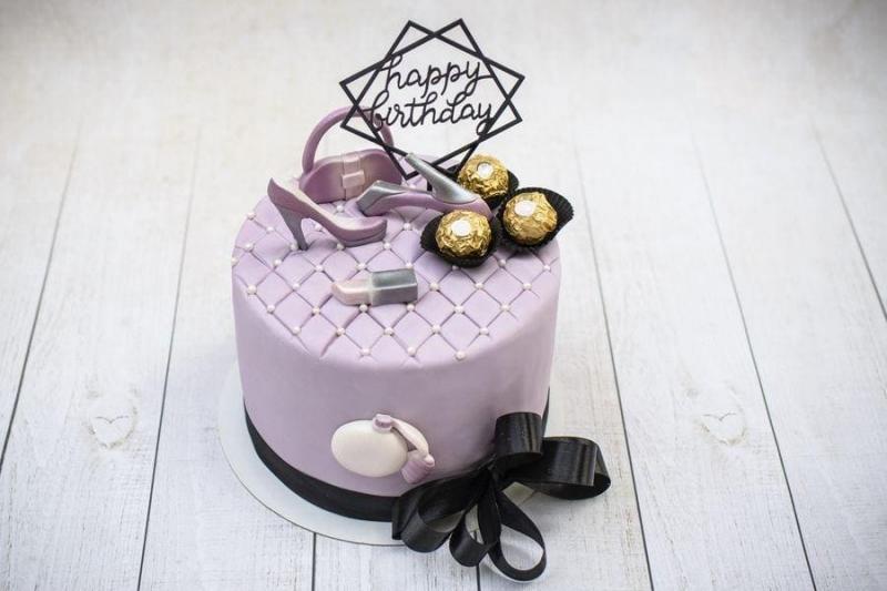 Tort na urodziny 53