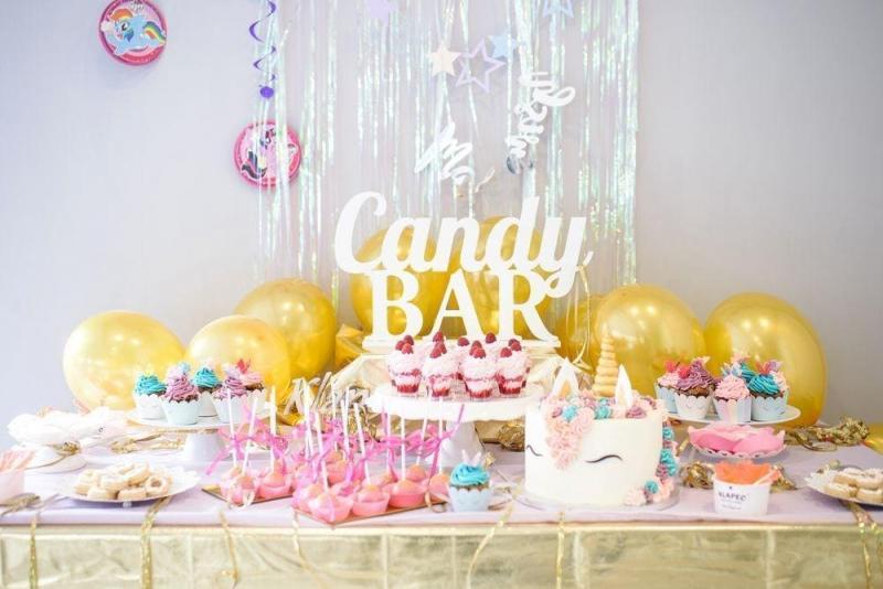 Słodki stół dla dziewczynki 1