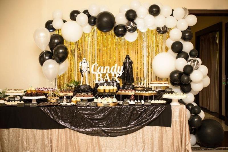Słodki stół na urodziny Star Wars 0