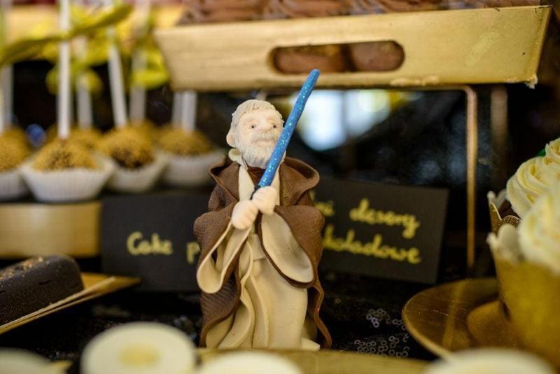 Słodki stół na urodziny Star Wars 12