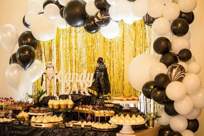 Słodki stół na urodziny Star Wars 2
