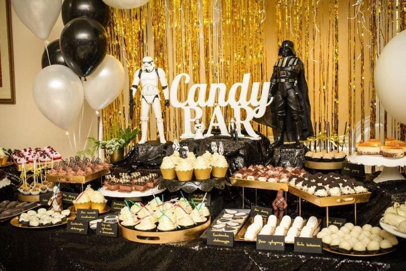 Słodki stół na urodziny Star Wars 27