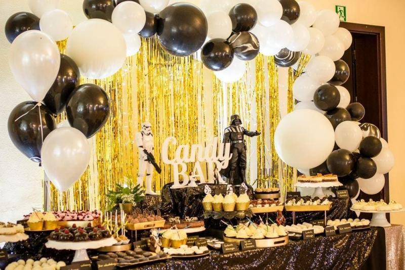 Słodki stół na urodziny Star Wars 28