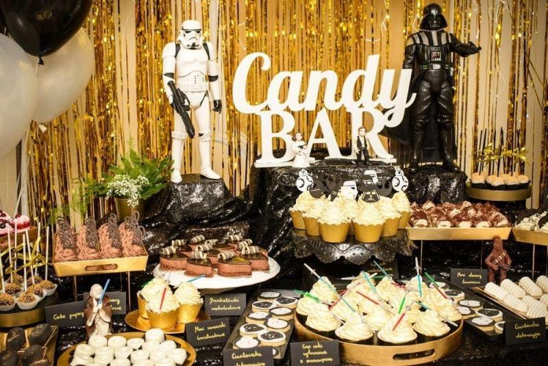 Słodki stół na urodziny Star Wars 4
