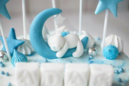 Klapec torty na chrzest